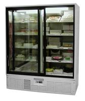 холодильна шафа скляні двері