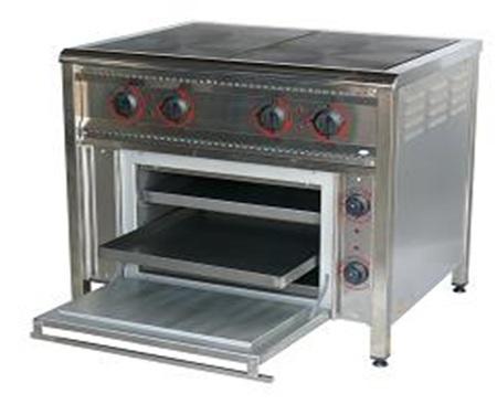 Плита промислова  ПЕ-4Ш з жарочною шафою