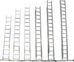 Лестница универсальная 3 х 12 Н=7,90м