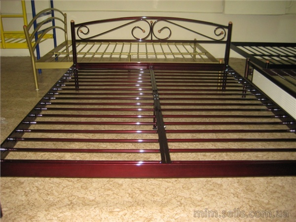 Металлические двуспальные кровати своими руками
