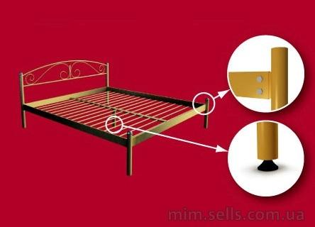 Сделать кровать своими руками из металла