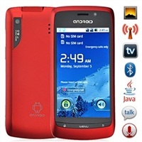 "Tелефон A8 Android 2.2 ""3,6"" WiFi TV Bluetooth FM GPS 2sim"