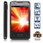 Смартфон i9270+  Android 4.0 с двумя SIM, 3,5-дюймовыйсенсорный экран, WiFi, две камеры