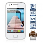 Смартфон T3000 3,5-дюймовый экран, Android 4.0.4  с двумя SIM, процессором 1 ГГц, WiFi, ТВ две камер