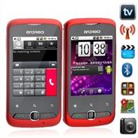 """Смартфон T10 Android 2.2 2,8""""-дюймовый сенсорный экран с GPS WiFi ТВ Камерой Bluetooth FM радио"""