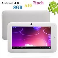 "Планшет 7 ""сенсорный экран All Winner A10 1,5 ГГц 512M/8G Android 4,0 2160P ультратонкий с Wi-Fi, ка"