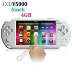 """Игровая приставка JXD V5000 4,3"""" дюймовый сенсорный экран, 4 Гб встроенной памяти, 3-мегапиксельная"""