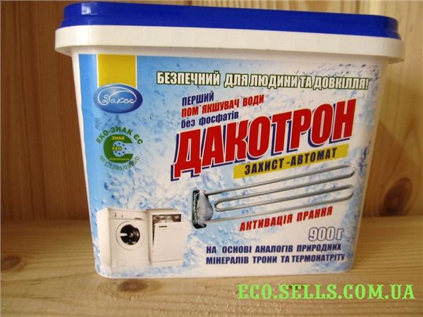 Смягчитель воды и усилитель стирки (без фосфатов и соды) «Дакотрон» защита-автомат.