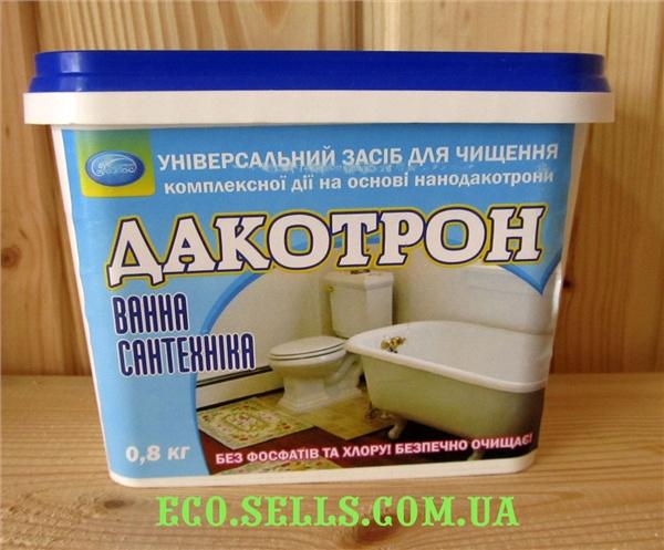 «ДАКОТРОН» Ванна, универсальное сухое чистящее средство, 900 гр.