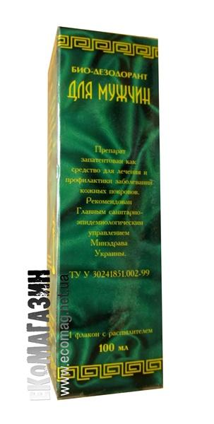Био-дезодорант для мужчин