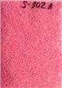 Бисер средний, розовый, непрозрачный, жемчужный, 2,5-3мм (код S-302A) 25г.