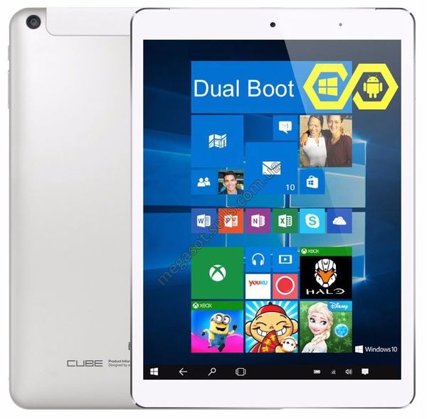 Cube i6 Air Wi-Fi White DualBoot