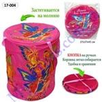 Корзина для игрушек вместительная Винкс розовая