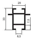 Прогон (ригель) двухполочный А16