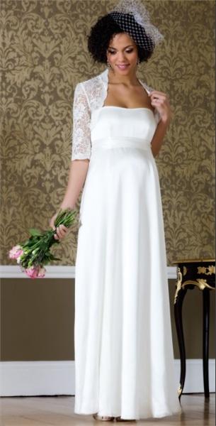 Свадебные платья не длинные для беременных