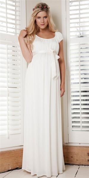 Платья свадебные для беременных длинные фото