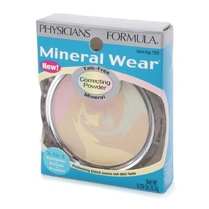 Минеральная пудра Mineral Wear Correcting Powder, Natural Beige