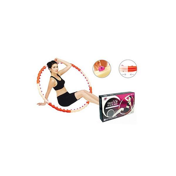 Массажный обруч 1,2кг magnetic health hoop ii грн