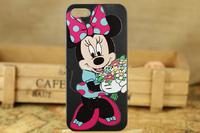 Чехол Минни Маус 03 для  iPhone 5 5S
