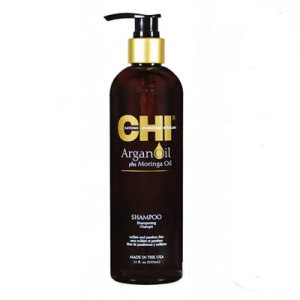 Восстанавливающий шампунь - Argan Oil Plus Moringa Oil Shampoo, CHI 355мл