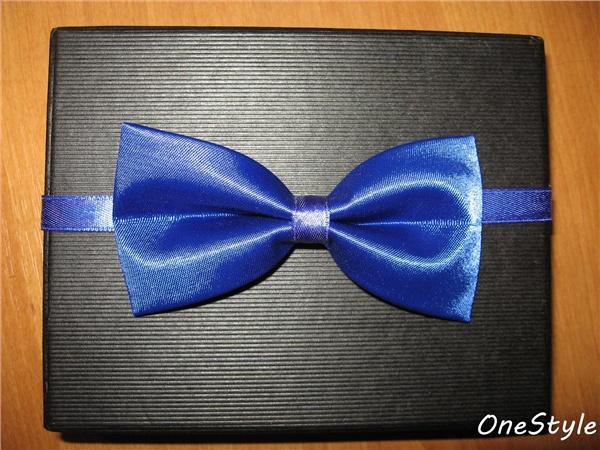 Как сделать галстук-бабочку из ленты своими руками