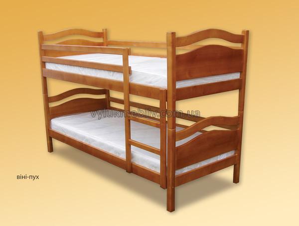 """Ліжко дитяче двохярусне""""Вінні Пух"""""""