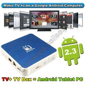 Android TV Box GV-2 операционная система Android 2.3 512MB/4GB Wi-Fi 1080P Full HD