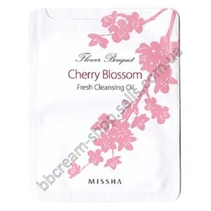 Missha Flower Bouquet Cherry Blossom Fresh Cleansing Oil 3ml