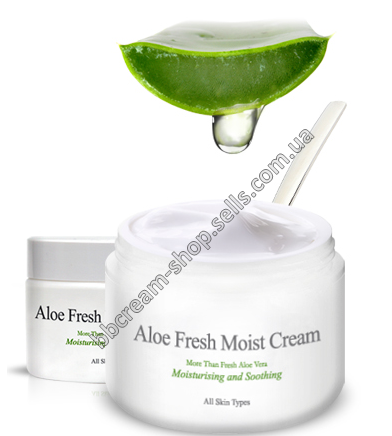 Крем с алоэ The Skin House Aloe fresh moist cream
