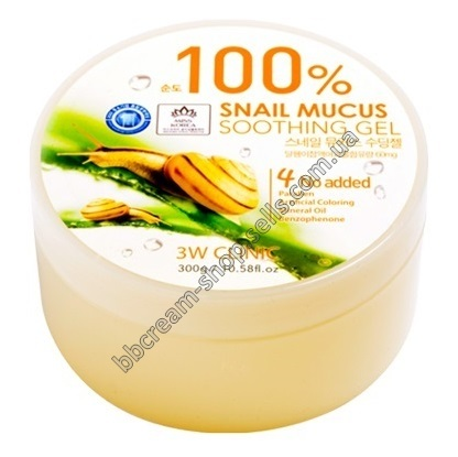 3W CLINIC Snail Mucus Soothing Gel