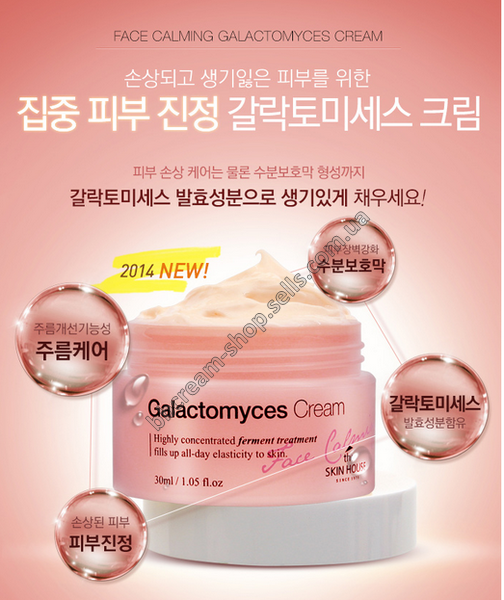 The skin house Galactomyces Cream