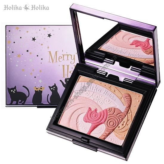 Хайлайтер HOLIKA HOLIKA Hello Holika Kitten Chic Blusher