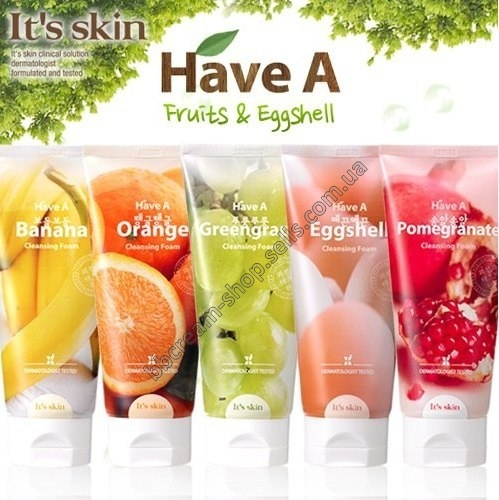 It's skin Have a Fruits & Eggshell Cleansing Foam