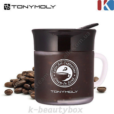 Крем-скраб TONY MOLY Latte Art Cappuccino Cream-in Scrub