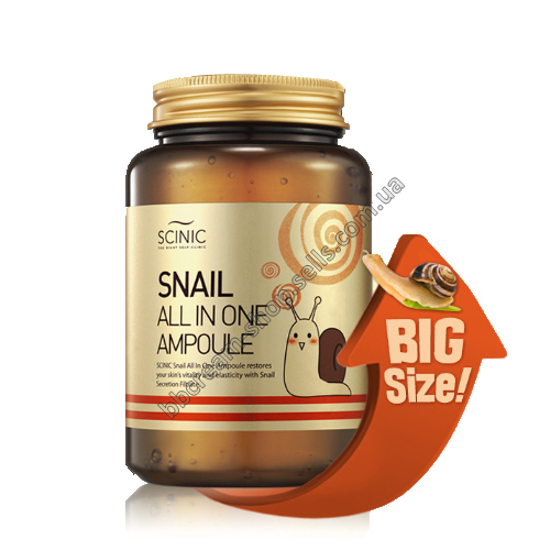 Улиточная сыворотка Scinic Snail All in One Ampoule