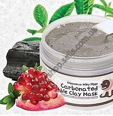 Кислородная глиняная маска Elizavecca Milky Piggy Carbonated Bubble Clay Mask