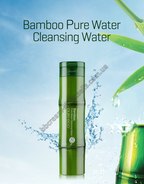 TONY MOLY Pure Eco Bamboo Pure Water Cleansing Water Очищающая вода с экстрактом бамбука