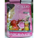 Маска листовая с гранатом Cello Pomegranate extra soothing essential masc
