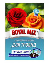 Удобрение Royal Mix cristal-drip для роз, 100г