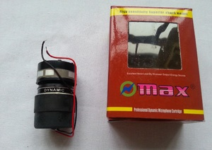Картридж динамика микрофона MAX CRT-5