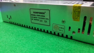 Блок питания Sunpower FDPS-350A 24V / 15A