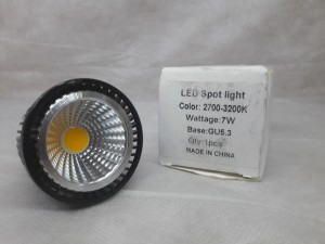 LED Spot light 2700-3200К, 7 Вт