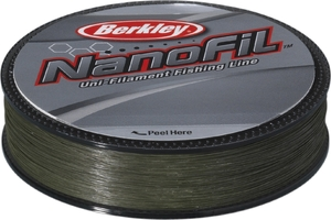 Шнур Berkley NanoFil Green  0.04