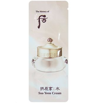 THE HISTORY OF WHOO Soo Yeon Jin Cream 1ml