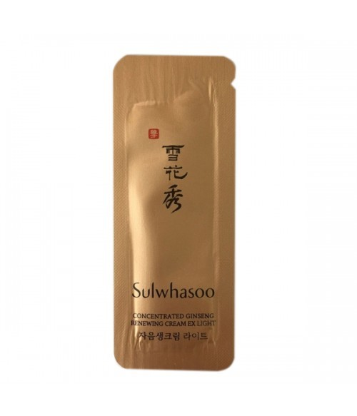 Sulwhasoo Concentrated Ginseng renewing cream 1мл