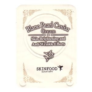 SKINFOOD Blanc Pearl Caviar cream 1ml
