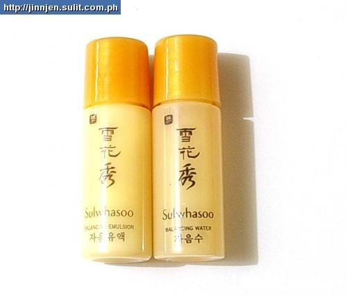 Sulwhasoo Essential Balancing Water or/and Emulsion 5 ml