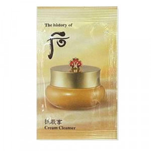 The history of whoo Gong Jin Hyang Cream Cleanser 1ml