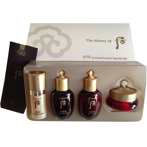 The History of Whoo Ja Saeng Essence Special Gift Set 4 items