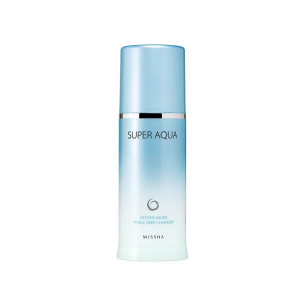 Missha Super Aqua Oxygen Micro Visible Deep Cleanser 120ml
